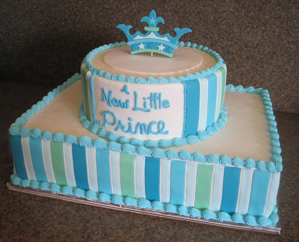 Quot A New Little Prince Quot Baby Shower Cake This Cake Was