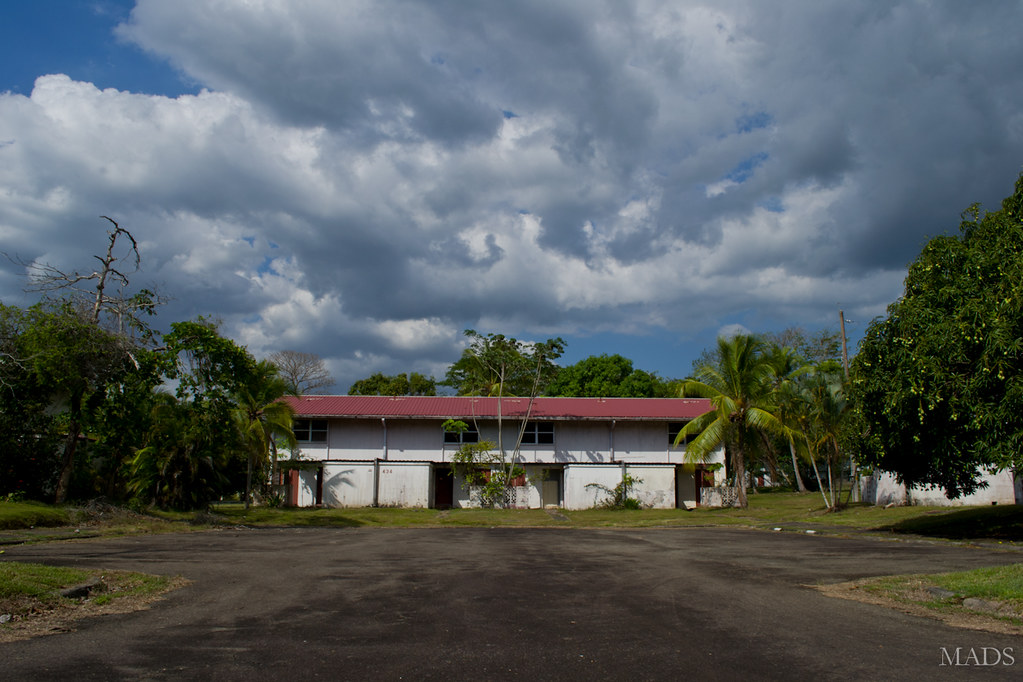 Former Howard Air Force Base Housing Located In The