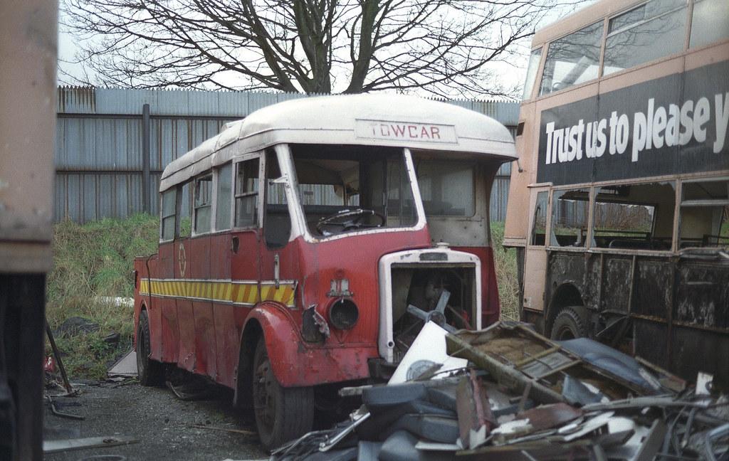 C I E P Class Tow Car Having Towed Many A Failed Bus