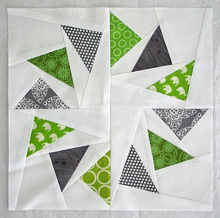Circle of Geese block for Brooke | by freshlypieced