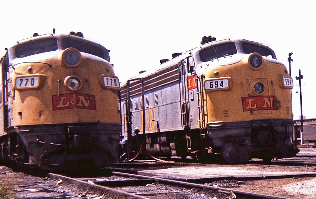 L Amp N E6 770 E8 694 Louisville Ky Sep 67ps2 Rick
