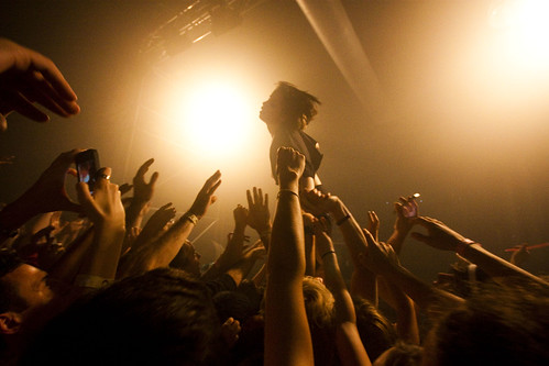 "Crystal Castles at the CAC | by ""Soup"""