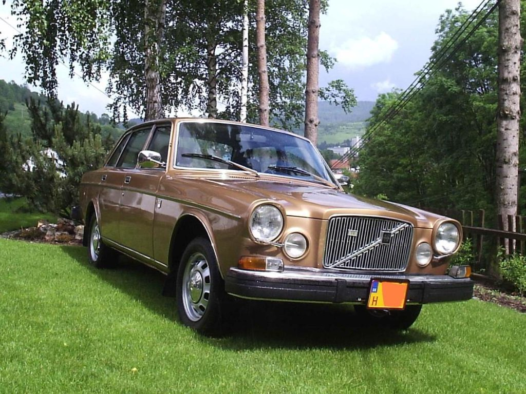 Volvo 164 Te 1974 Gold Cz Republic For Sale Very Nice