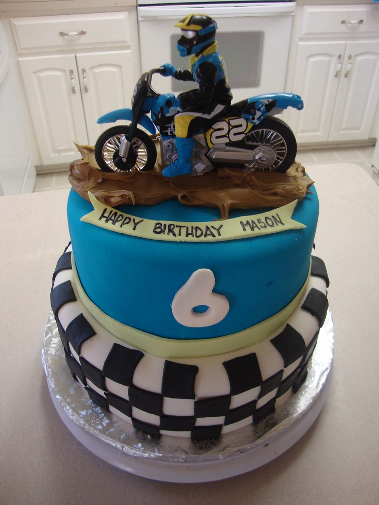 dirt bike cake - photo #15