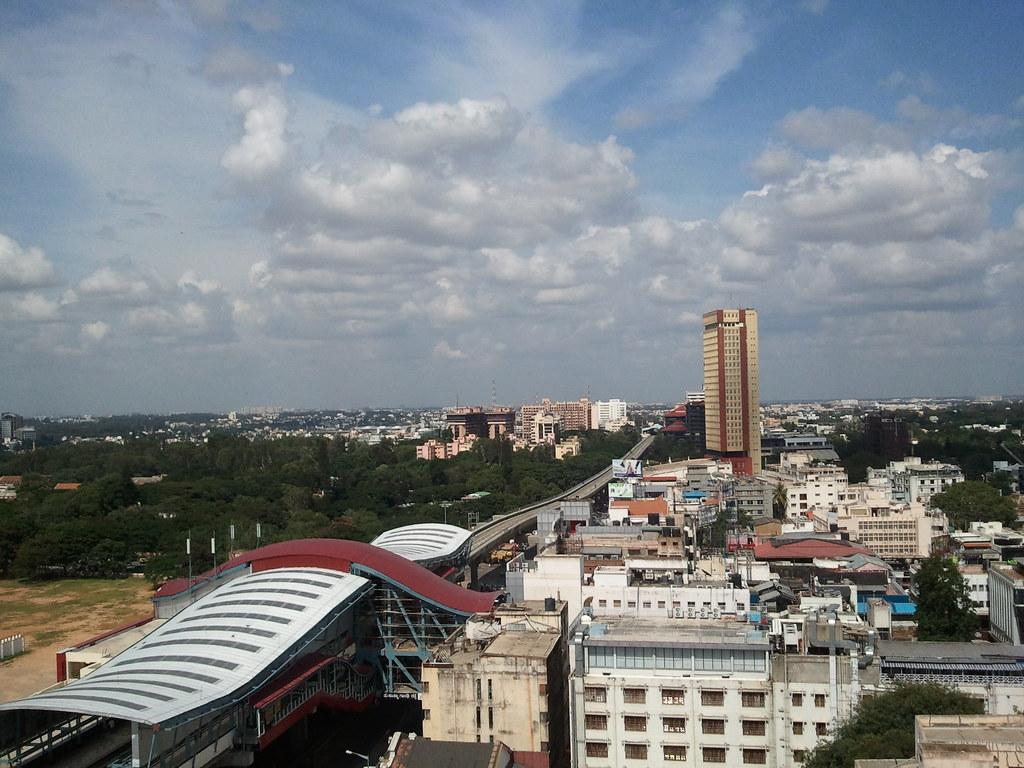 M g road bangalore view from ebony 13th floor barton for 13th floor ebony restaurant