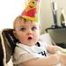 Nate 1st Birthday - hat!