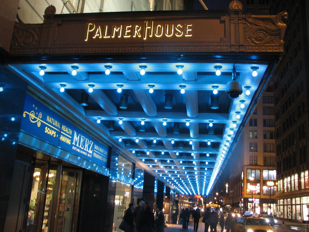 Palmer House Hilton Hotel Chicago Il Photo Courtesy