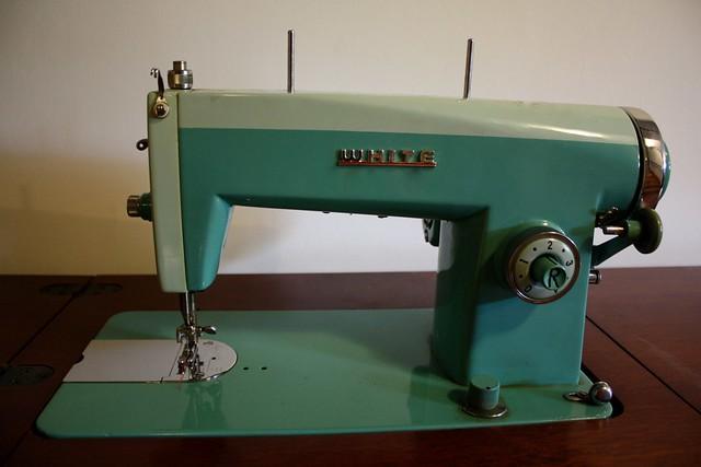 white 2037 sewing machine