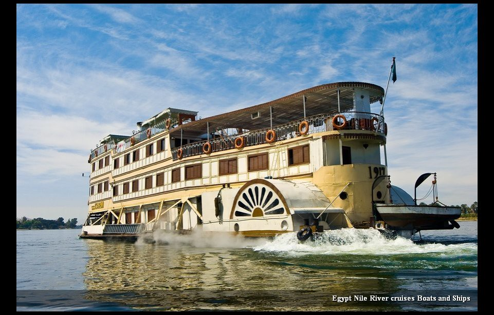 Egypt Nile River Cruises Boats And Ships Egypt Nile