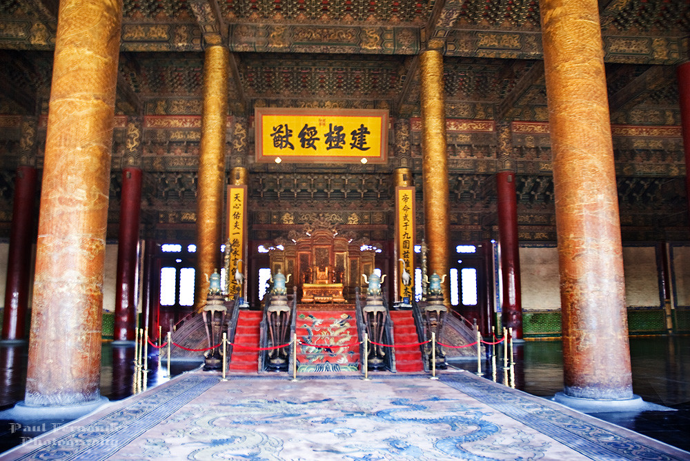 Throne Room Forbidden City Beijing Best Viewed Large