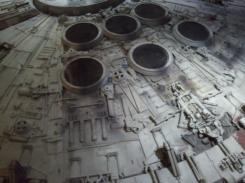 star wars millenium falcon movie prop 4 pacific science ce flickr. Black Bedroom Furniture Sets. Home Design Ideas