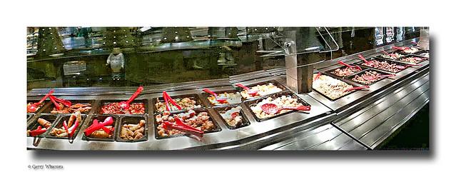 Chinese salad bar at wegmans hunt valley md iphone for Food bar wegmans