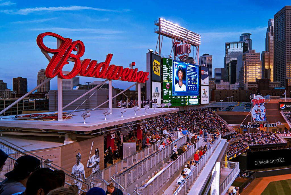 Budweiser Roof Deck The Budweiser Roof Deck Is One Of