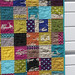 hipster baby quilt.