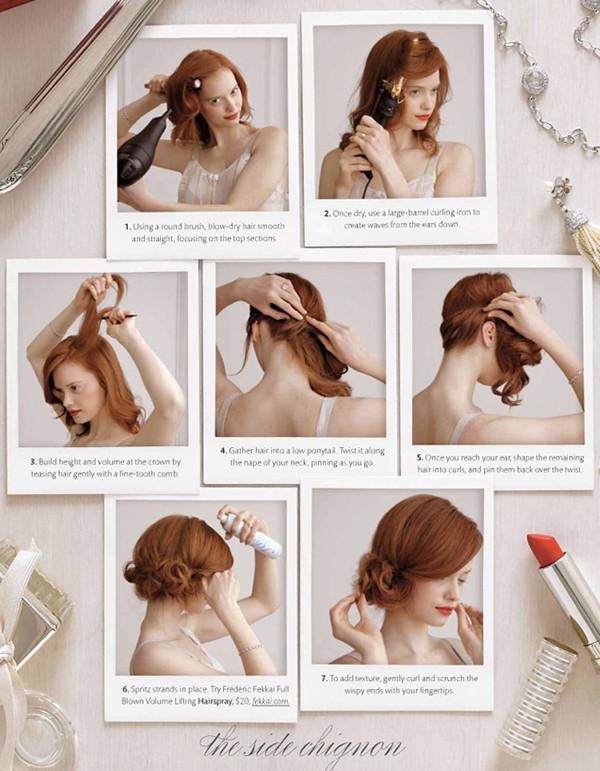 Лёгкие причёски инструкцией