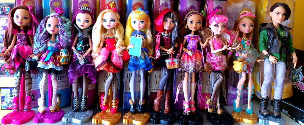 My Ever After High Basic Dolls #everafterhigh #everafterhi