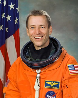 Astronaut Gregory C. Johnson, STS-125 pilot, NASA photo (19 January 2006) 14265855930_c17c36066d_n.jpg