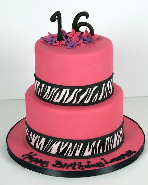 BC4140 - Pink Zebra Cake Toronto