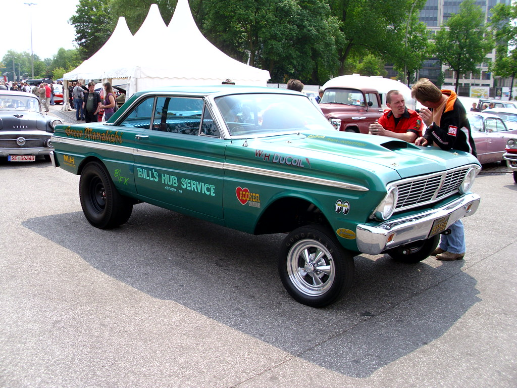 u0026 39 65 ford falcon gasser  u0026 39 green manalishi u0026 39