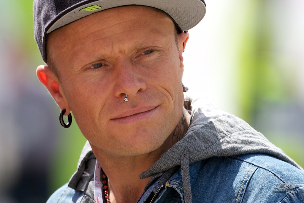 Keith Flint, MotoGP fan and Firestarter | Keith Flint, front… | Flickr