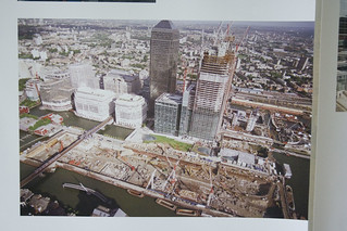 Canary Wharf under construction | by IanVisits