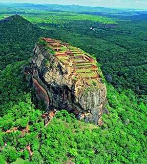 Aerial view of Sigiriya Rock | by Exodus Travels - Reset your compass