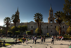 Say your prayers at Basilica cathedral of Arequipa - Things to do in Arequipa