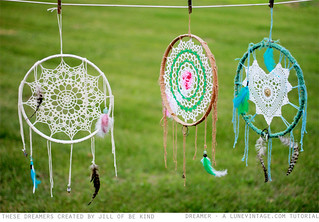lune vintage dream catcher - be kind | by love lune