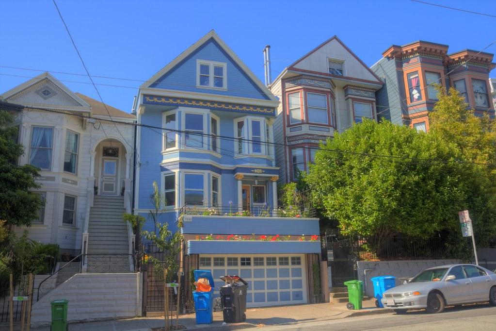 Maison bleue de maxime leforestier 18th street san francis flickr - Maxime leforestier maison bleue ...