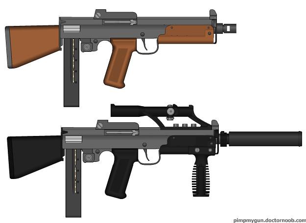 m5 sub machine gun