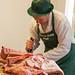 Butchery Demonstration, Callow Farm, Stonesfield, Oxfordshire