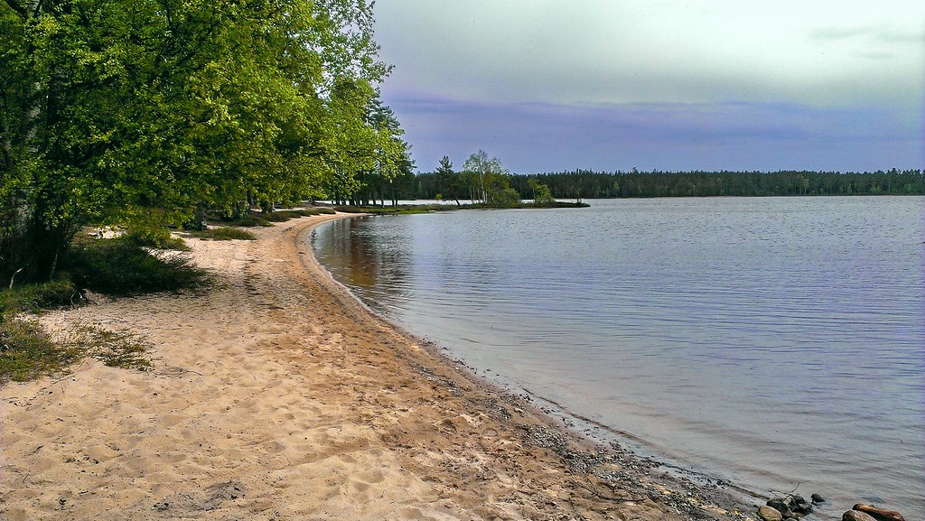 Rolstorpasjön strand near Vaggeryd | New place I visited