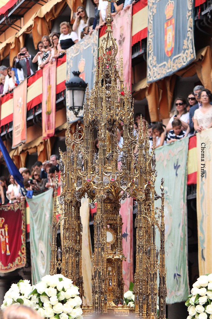 Custodia de Enrique de Arfe, Toledo