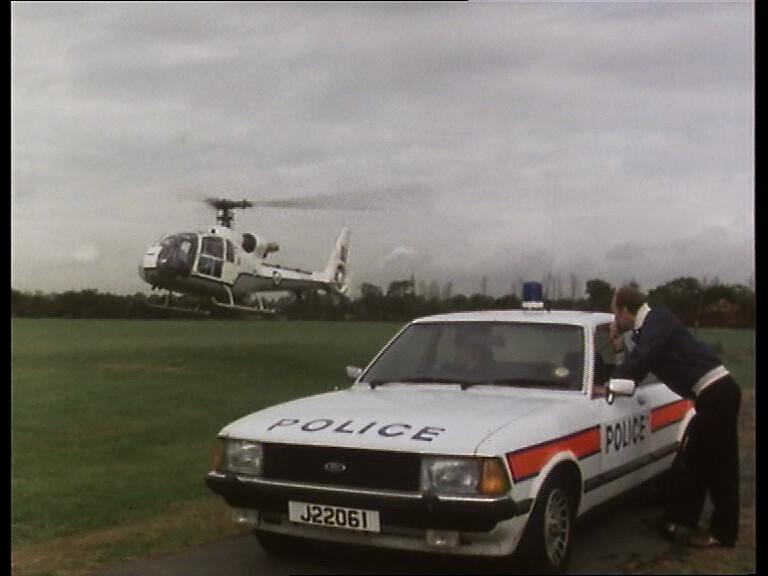 White Police Car Uk