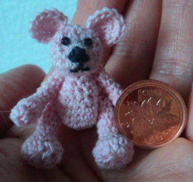 Tiny Amigurumi Bear Pattern : miniature crochet bear free pattern Here is a video ...