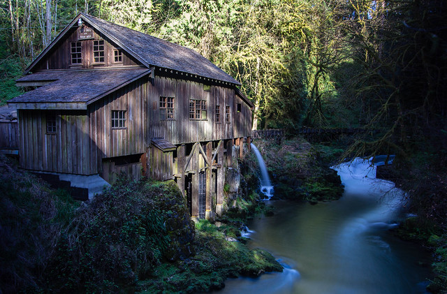 The cedar creek grist mill woodland wa flickr photo for The cedar mill