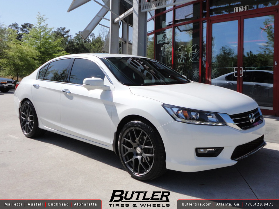 Honda Accord With 19in Tsw Nurburgring Wheels Additional