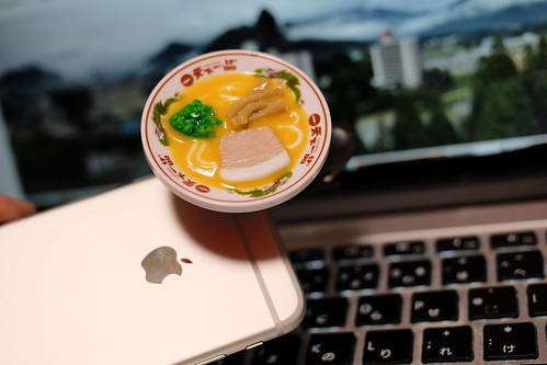 Tenkaippin Kotteri smartphone ramen noodle figured wide conversion lens 10