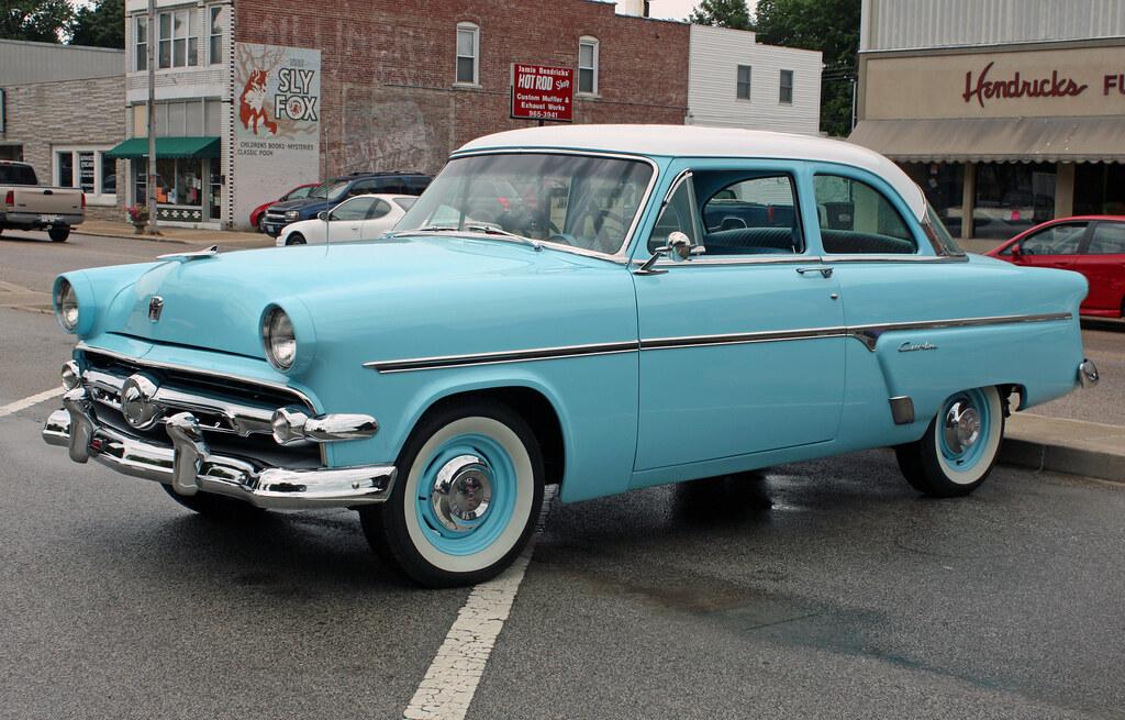 1954 ford customline 2 door sedan 3 of 8 photographed for 1953 ford customline 4 door