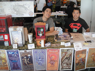 Long Beach Comic Expo 2012 - Chris Kawagiwa | by Doug Kline