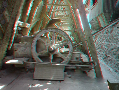 Abandoned oficinas salitreras Santa Laura, 3D photo (anaglyph) | by Stereomania