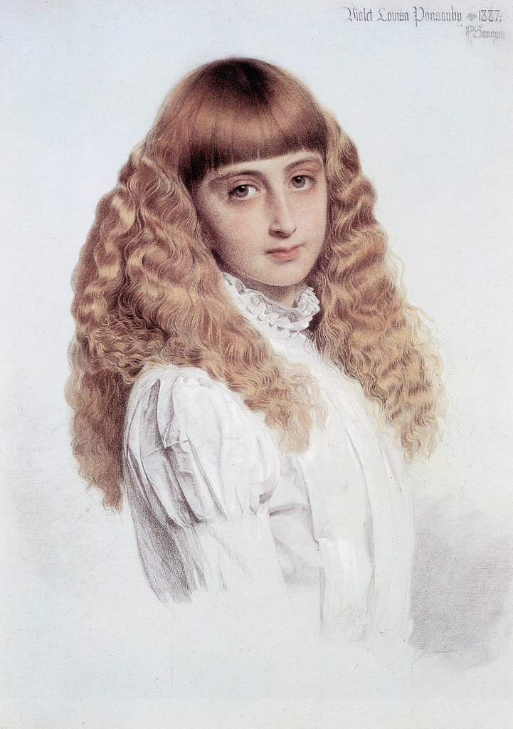 "Anthony Frederick Augustus Sandys (British, 1829-1904), ""P"