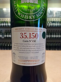 SMWS 35.150 - Corn N' Oil