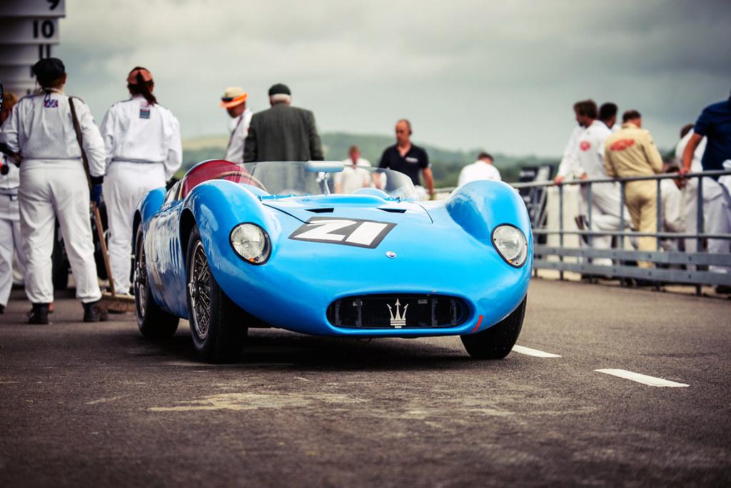 Wolf Dieter Baumann and Gregor Fisken - 1955 Maserati 200S… | Flickr