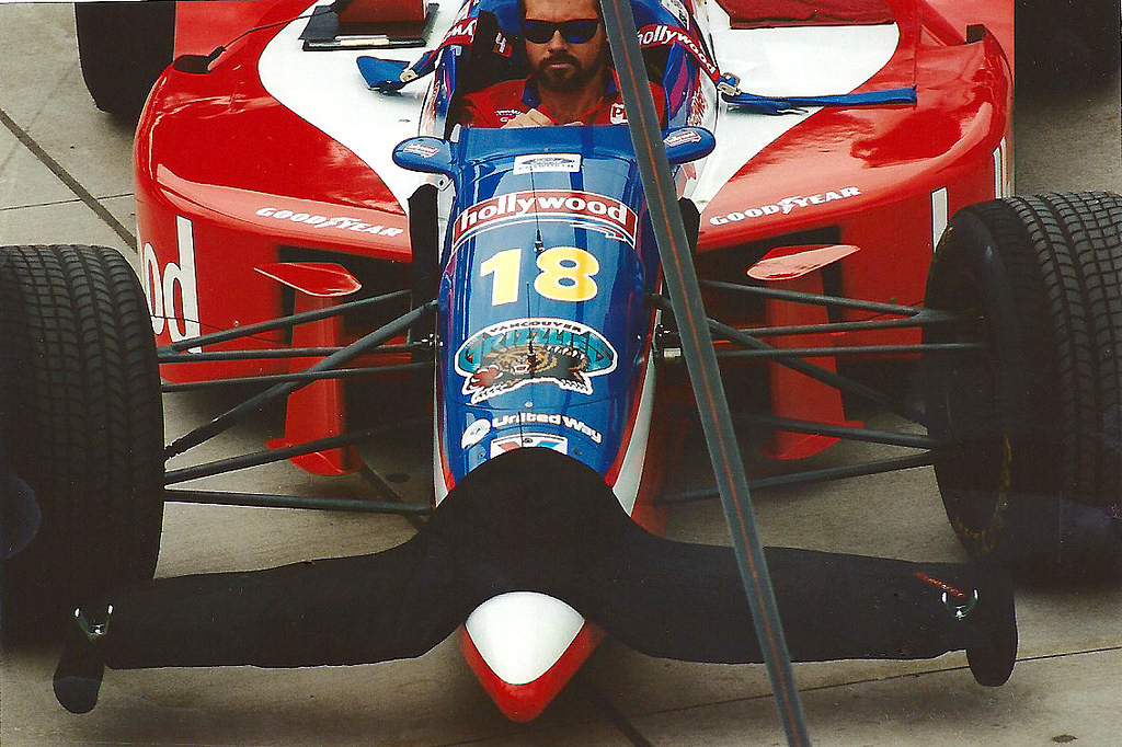 Mauricio Gugelmin PacWest Racing Reynard 95i/Ford Cosworth ...