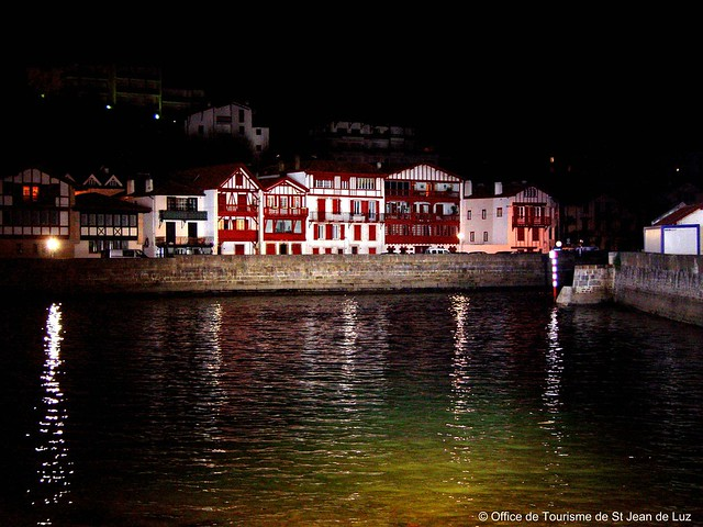 Ciboure de nuit office de tourisme de saint jean de luz flickr photo sharing - Office tourisme saint jean de luz ...