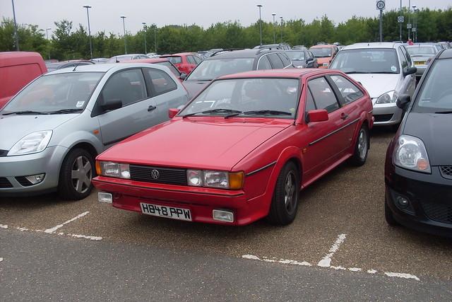 1990 Volkswagen Scirocco 1 8 Gt Auto Flickr Photo Sharing