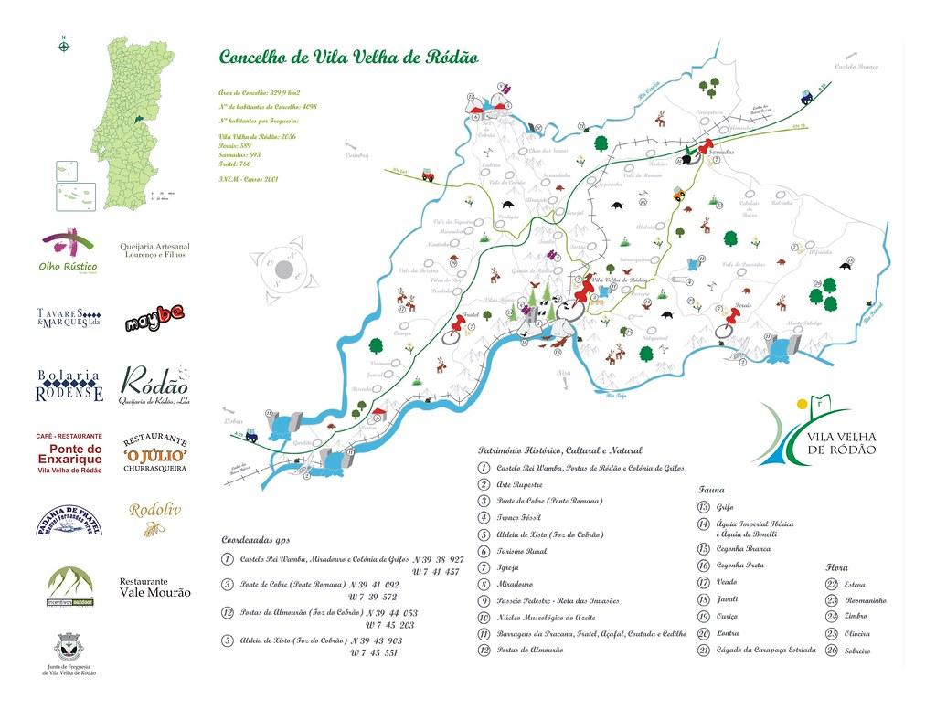 All Sizes Vila Velha De Rodao Mapa Flickr Photo Sharing