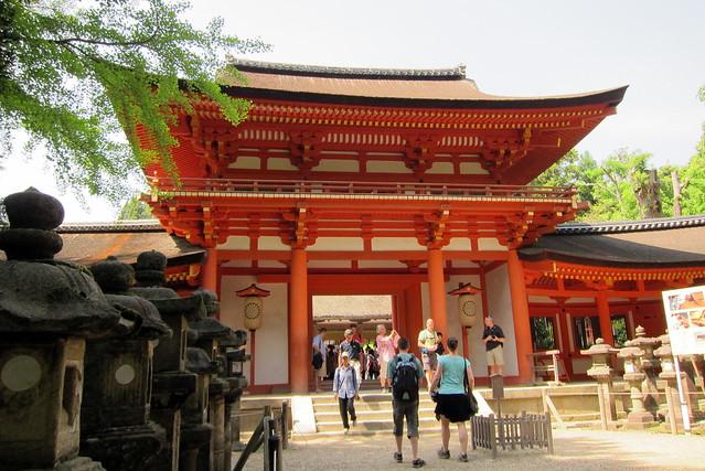 Nara: Kasuga-taisha - Minamimon  Flickr - Photo Sharing!