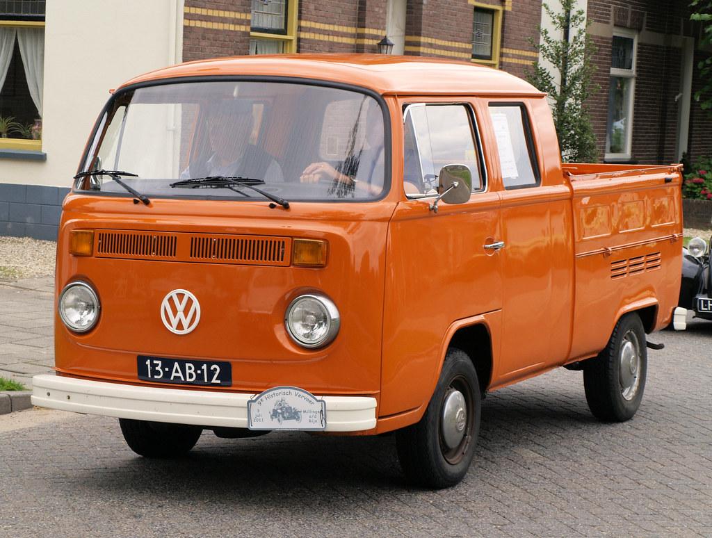 1978 Vw T2 Pickup Doka Doka Dubbele Cabine Flickr